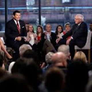 Bernie Sanders at the  Fox News Town Hall