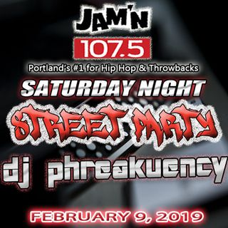 JAM'N 107.5 SATURDAY NIGHT STREET PARTY 02/09/19