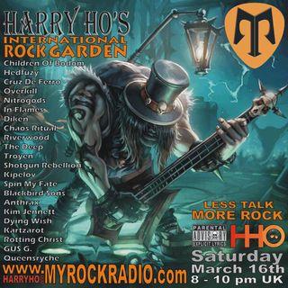 Harry Ho's intern. Rock Garden 16.03.2019