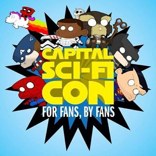 Live from Capital Sci Fi Con Day 2