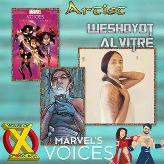 Episode 27 - Interview w/ Artist Weshoyot Alvitre & Indigenous Voices Review