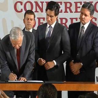 AMLO anuncia fondo revolvente para fortalecer Pemex