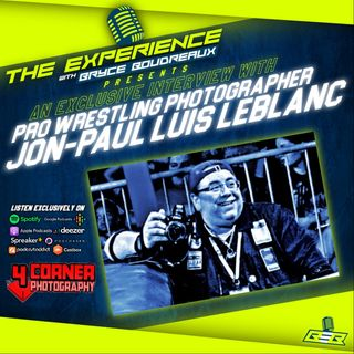 Pro Wrestling Photographer Jon-Paul Luis Leblanc