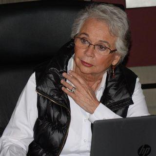 Sánchez Cordero y familiares de desaparecidos se reunieron en Irapuato