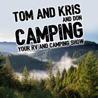 Tom and Kris Camping