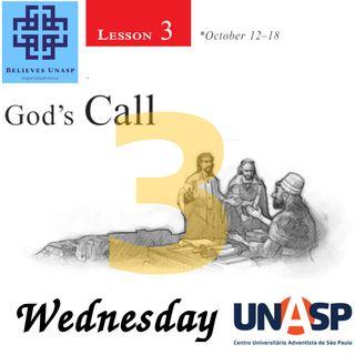 Sabbath School Oct-16 Wednesday