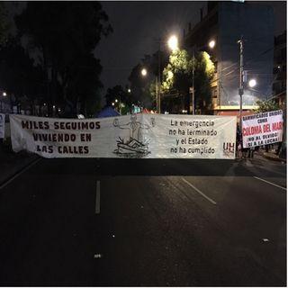 Damnificados protestarán en el Zócalo