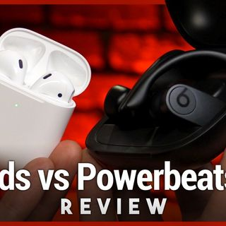 Powerbeats Pro vs. Apple AirPods 2