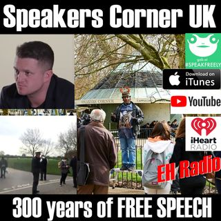 Morning moment Tommy Robinson on Speakers Corner Mar 16 2018