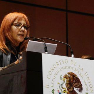 Rosario Piedra dice que demostrará autonomía de CNDH