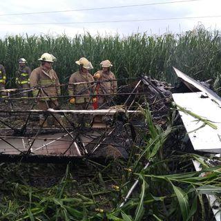 Se desploma avioneta en Jalisco. Muere el piloto.