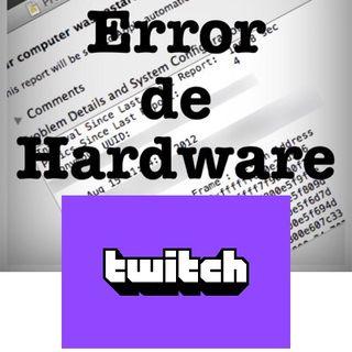 EdH 117 - Nuevo canal de Twitch