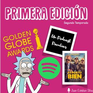 La Madriguera: T2E1. ¡Golden Globes!, Spotify nos acoge, un nuevo podcast y más