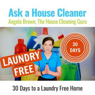 Laundry Free Challenge - 30 Days to a Laundry Free Home