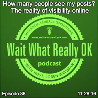 How many people see my posts? The reality of visibility online.
