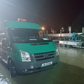 #StormFrank along the River Suir #clonmel
