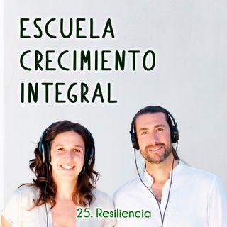 Resiliencia #25-Podcast Escuela Crecimiento Integral