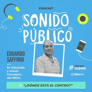 """Eduardo Saffirio en """"¿Dónde está el centro?"""""""