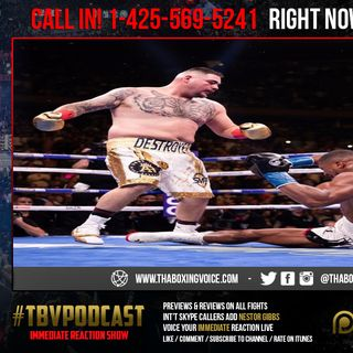 ☎️Immediate Reaction Anthony Joshua KNOCKED OUT🔥 By Andy Ruiz OMG😱