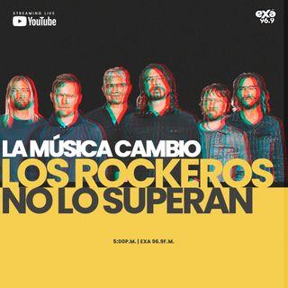 La música cambio y los rockeros no lo superan