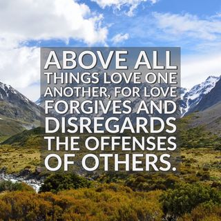 God Forgives You and Empowers You to Forgive Others by His Love at Work in You.