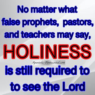 Holiness - Living in a Wicked World