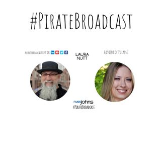 Catch Laura Nutt on the Pirate Broadcast
