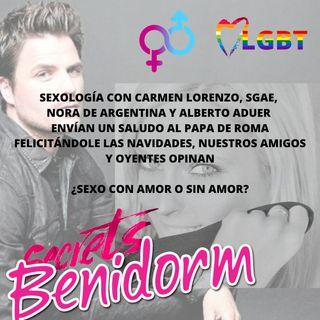 SEXOLOGÍA CON CARMEN LORENZO (PSICÓLOGA Y PERIODISTA) ENVIAMOS UN MENSAJE AL VATICANO, SGAE ESPAÑA Y OTRAS MAFIAS.. ALBERTO ADUER