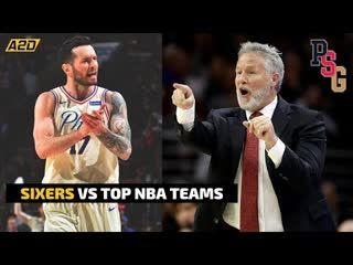 Sixers vs Top #NBA Teams | Philly Sports Guyz