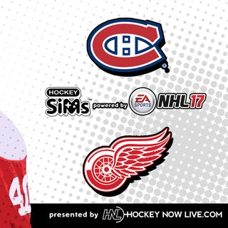 Canadiens vs Red Wings