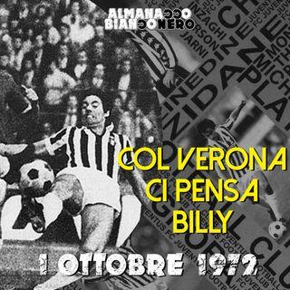 1 ottobre 1972 - Col Verona ci pensa Billy