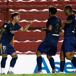Gol de Boca: Mauro Zárate 1-1