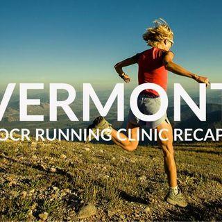 OCR Running Clinic in Vermont - Recap