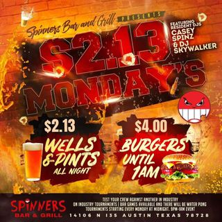 Live @ 2.13 Mondays At Spinners Bar & Grill (Dirty)