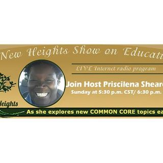 New Heights Show on Education with Priscilena, the host