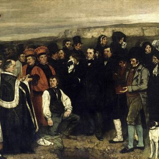 Funerale ad Ornans Courbet