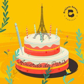¡Listo el pastel! Los 5 años del Acuerdo de París