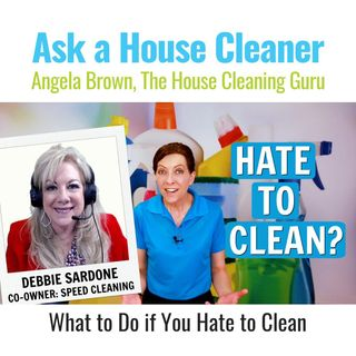 What to Do When You Hate to Clean with Debbie Sardone