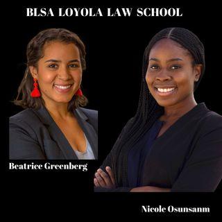 BLACK LAW STUDENT ASSOCIATION OF LOYOLA  LAW SCHOOL