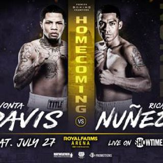 Preview Of The PBC/Showtime Card Headlined By Gervonta Davis-Ricardo Nunes For The WBA SuperFeatherweight Title!!Plus A Great Co-Main-Event!