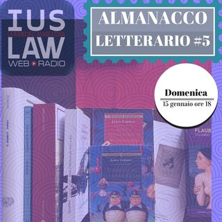 Almanacco Letterario - Quinta Puntata, Domenica 15 Gennaio 2017
