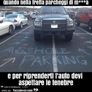 Episodio 7 - l'arte del parcheggiare la macchina