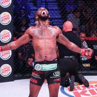 "FightBookMMA Fighter Focus: Darrion ""The Wolf"" Caldwell"