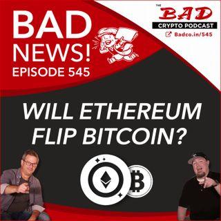 Will Ethereum Flip Bitcoin? Bad News For Sept 1st