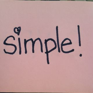 Simple Pleasures - The Art of Simplicity