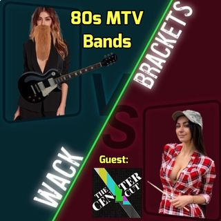 E32 - 80's MTV Bands w/The Center Cut : Saxophone Solos?  Yes, please!