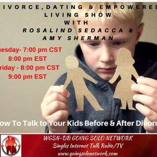 How To Talk to Your Kids Before & After Divorce