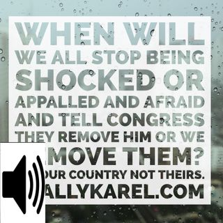 AUDIO: Karel Cast Wed Aug 16 America's President Is A White Supremicst