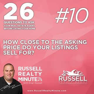 How close to the asking price do your listings sell for?