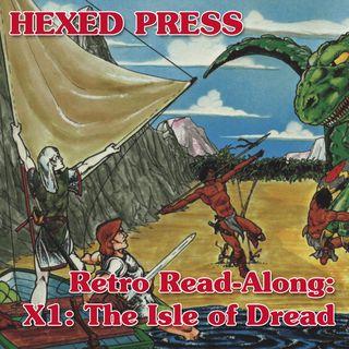Retro Read-Along: X1, The Isle of Dread